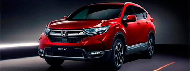 Honda CR-V - Salón Ginebra 2018