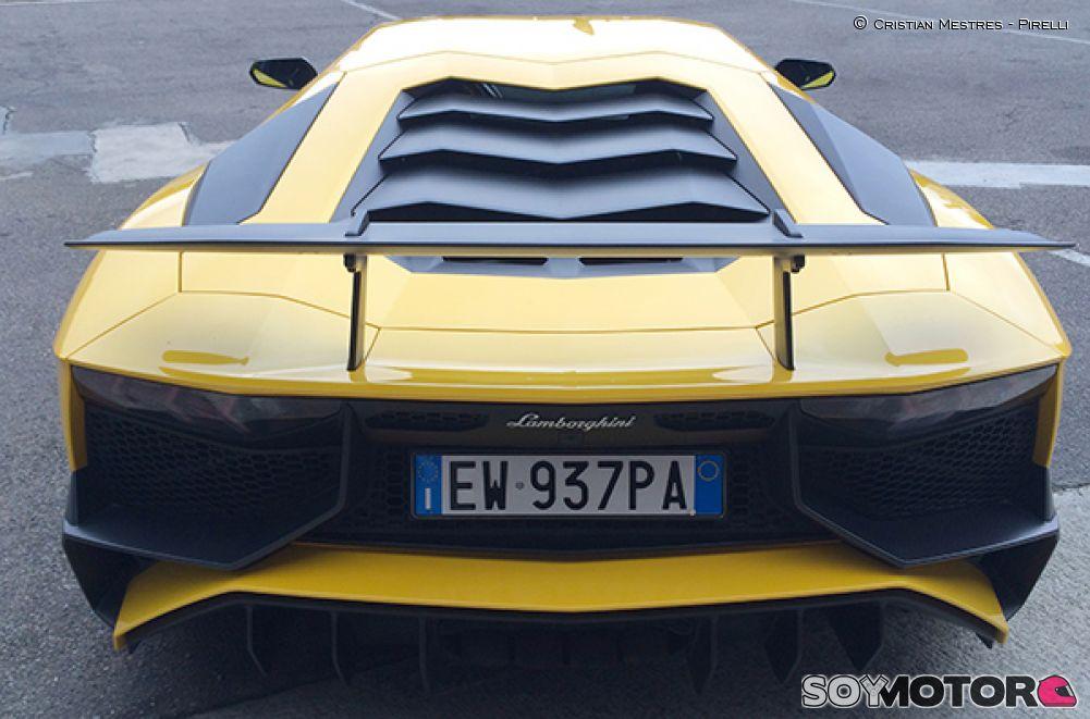 Prueba Lamborghini Aventador SV
