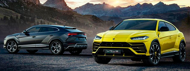Lamborghini Urus - Salón Ginebra 2018