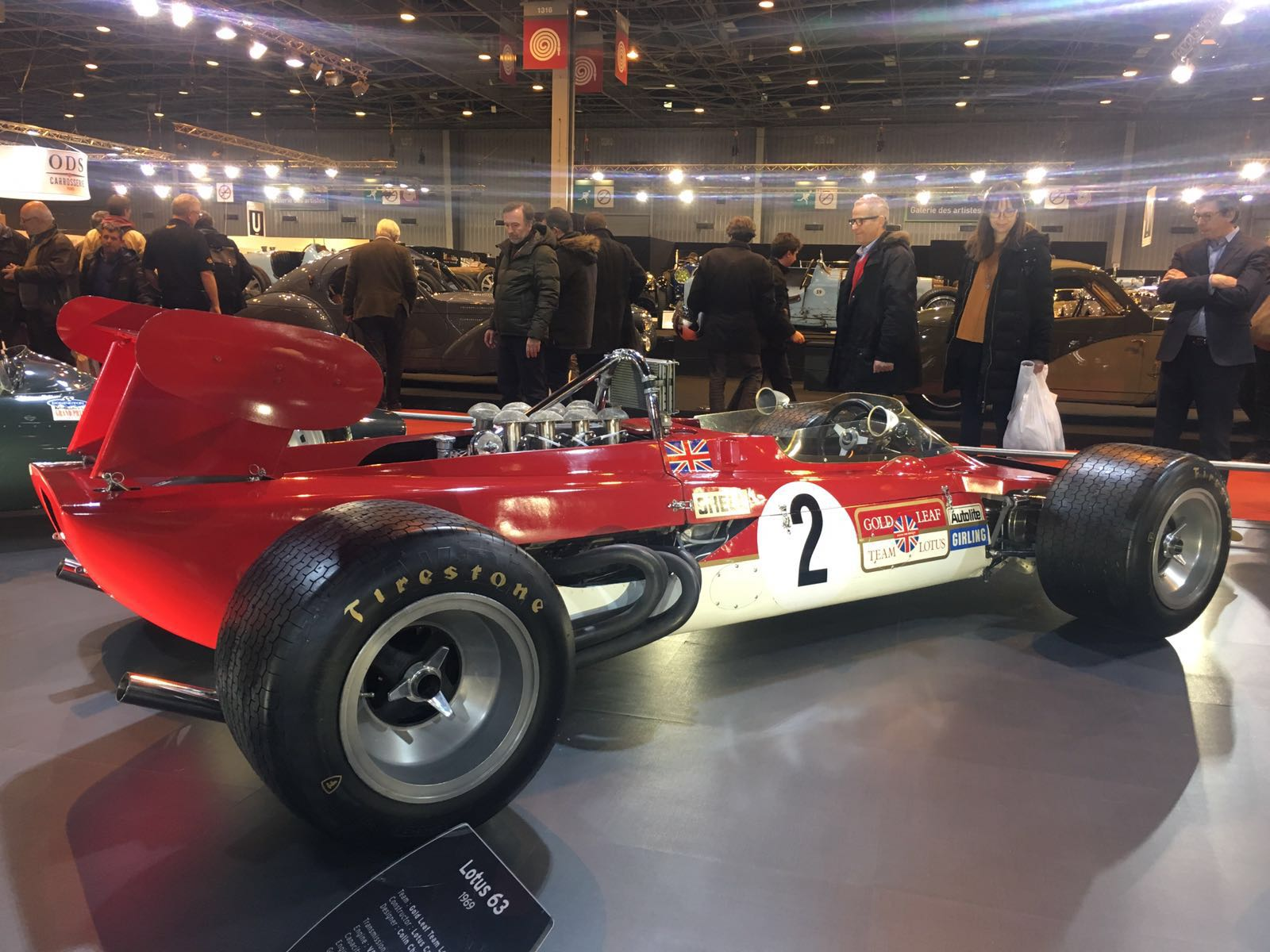 Lotus 63 Retromobile Paris