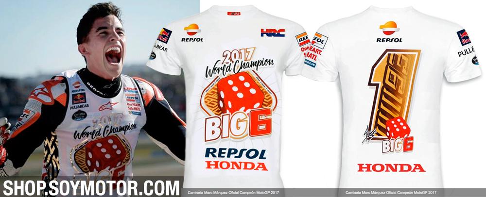 Camiseta Marc Márquez MotoGP 2017