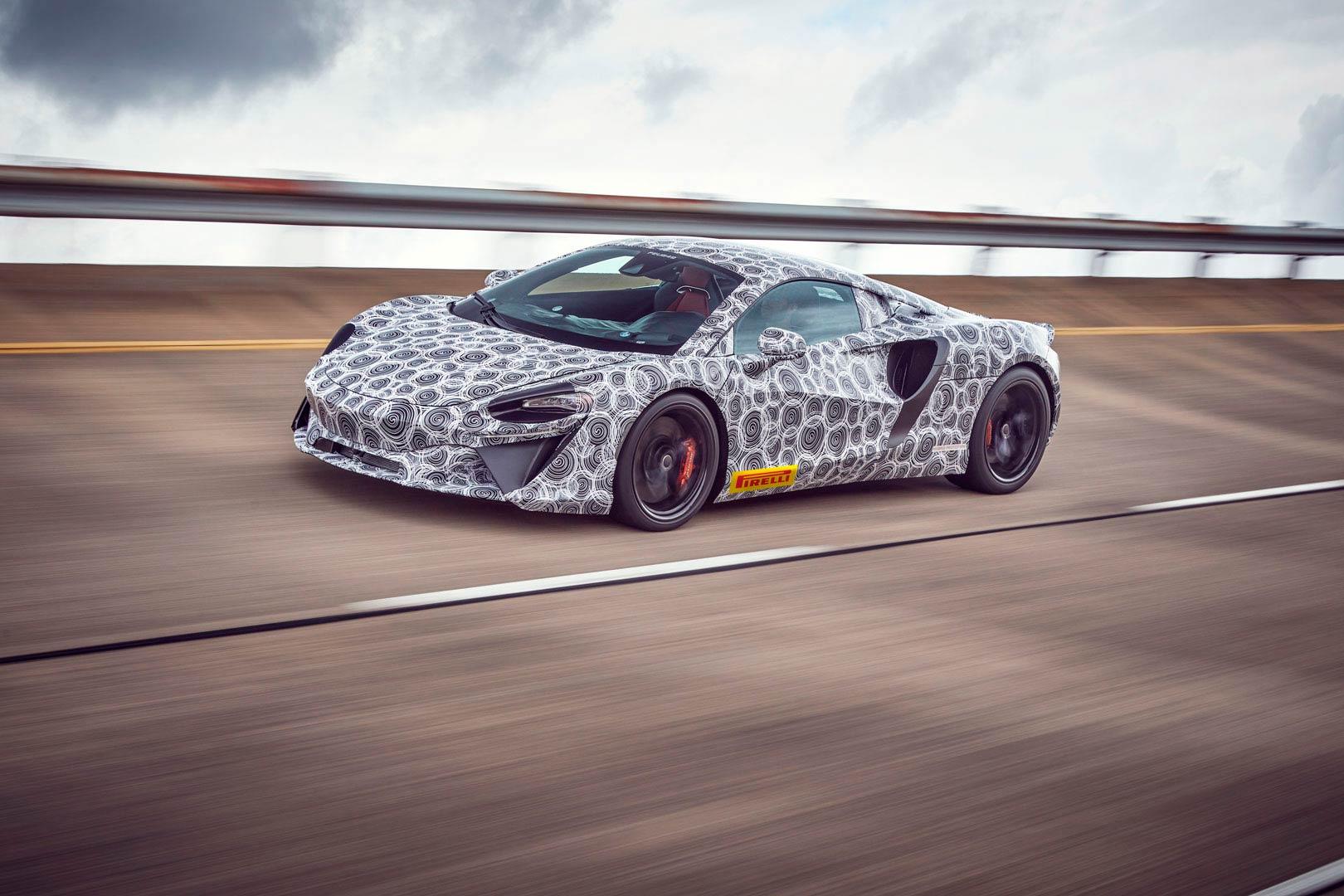 Así se llamará el futuro híbrido deportivo de Woking — McLaren Artura