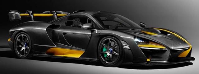 McLaren Senna Carbon Theme - Salón Ginebra 2018