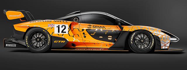 McLaren Senna GTR Concept - Salón Ginebra 2018