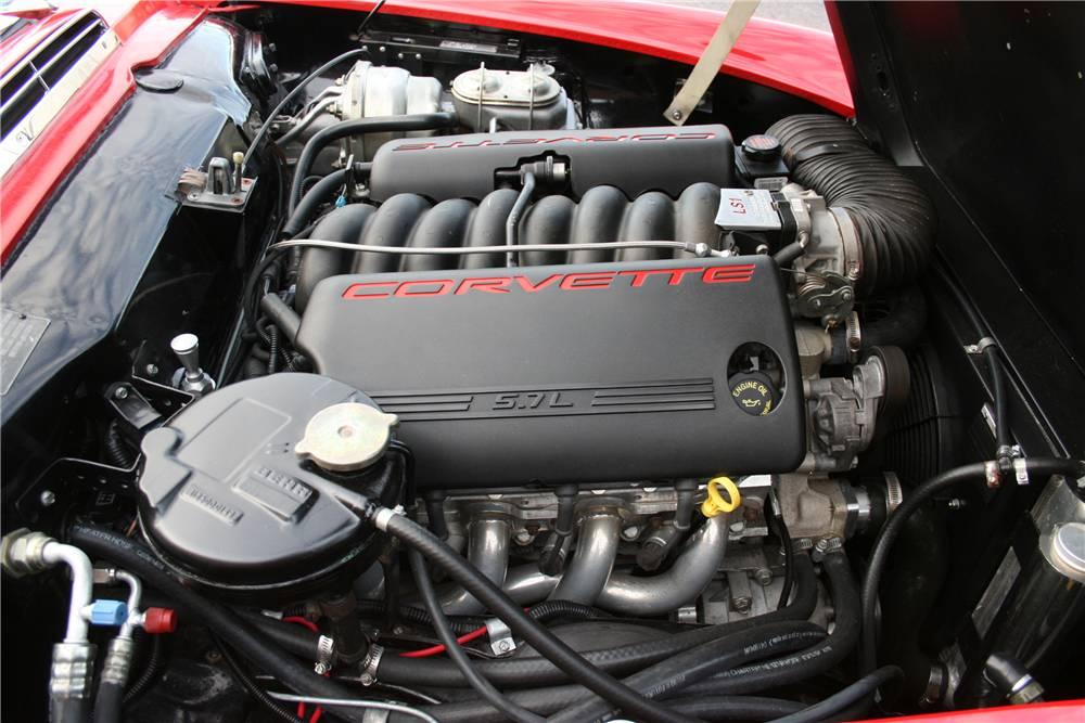 Mercedes 230 SL con motor Corvette