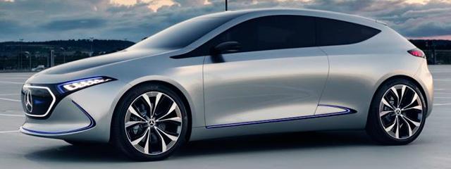 Mercedes-Benz EQ Concept - Salón Ginebra 2018