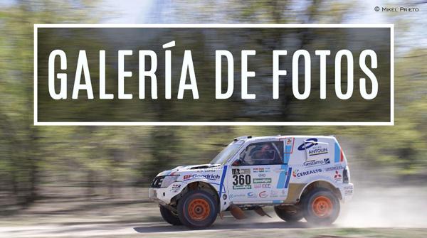 Galería fotos del Mitsubishi Montero de Cristina Gutiérrez