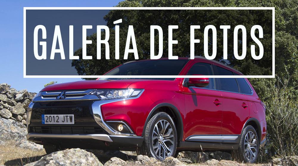 Galería de imágenes prueba Mitsubishi Outlander