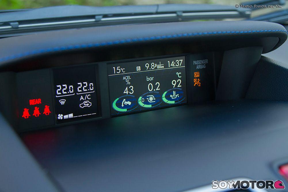 Prueba Subaru Levorg 1.6 GT Lineartronic