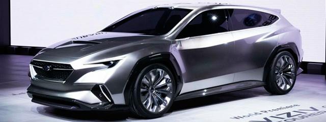 Subaru Viziv Tourer Concept - Salón Ginebra 2018