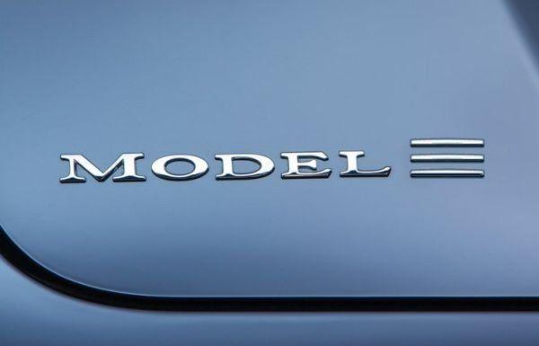 Logo Tesla Model 3