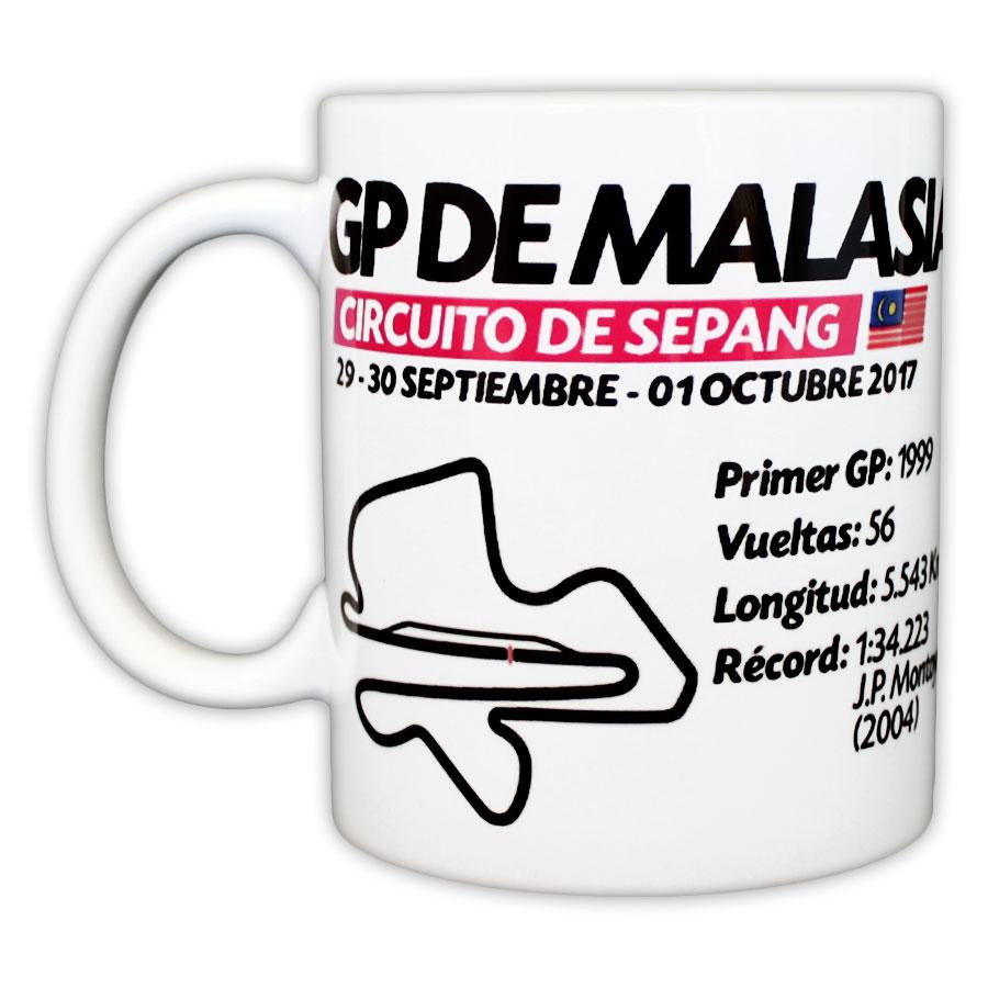 Taza GP Malasia - Tienda Merchandising SoyMotor.com