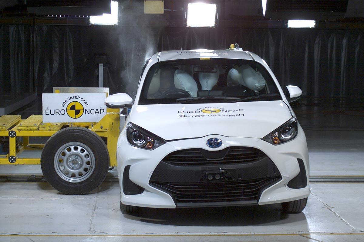 El nuevo Toyota Yaris en 2020 obtiene las 5 estrellas EURO NCAP