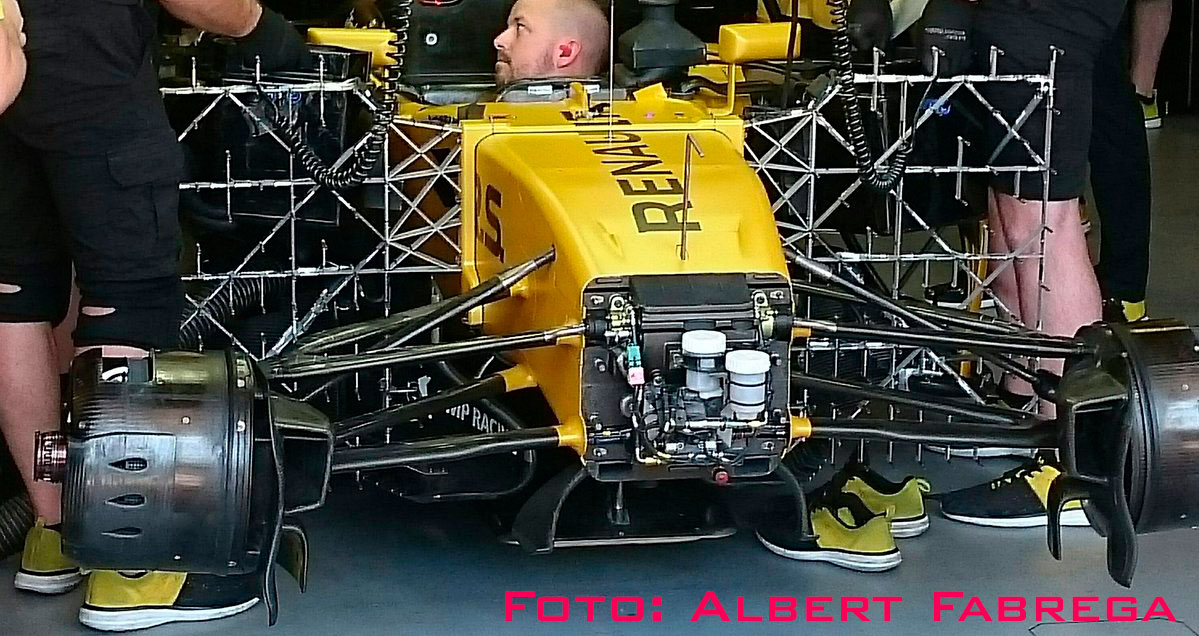 Renault parrilas