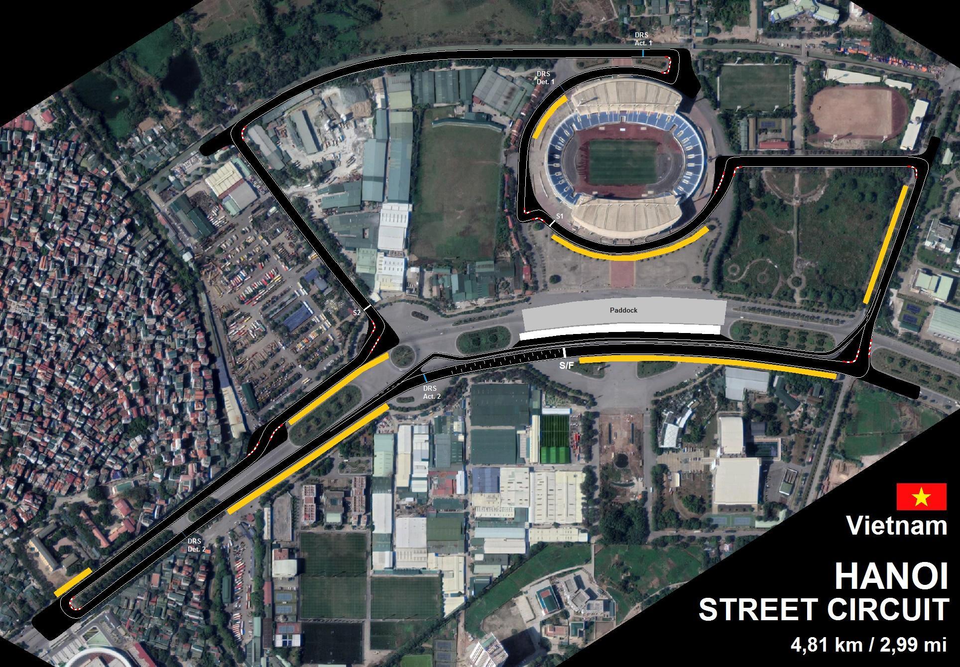Vietnam organizará un primer GP de F1 en 2020