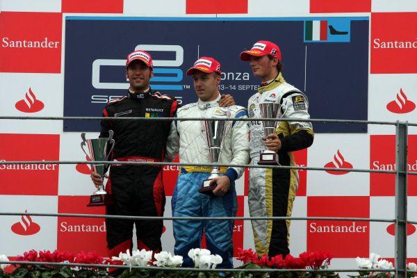 Podio GP2 2008