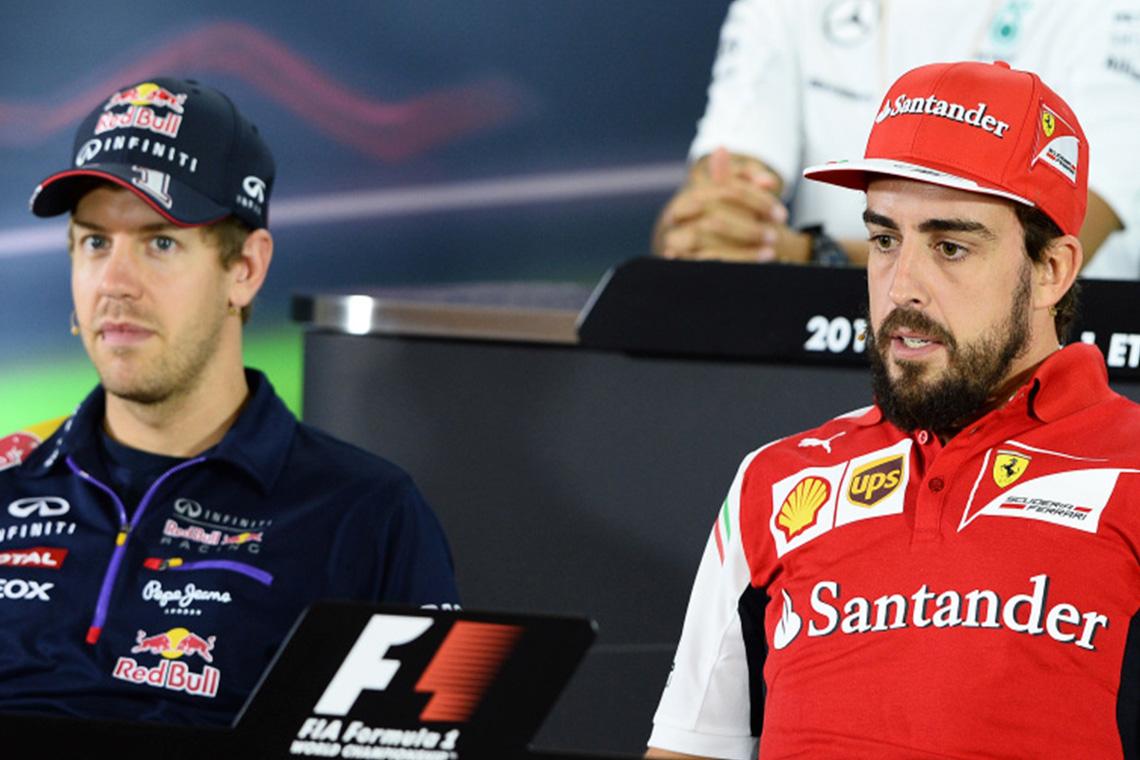 Vettel ha conseguido los mismos títulos que Alonso en Ferrari - SoyMotor.com