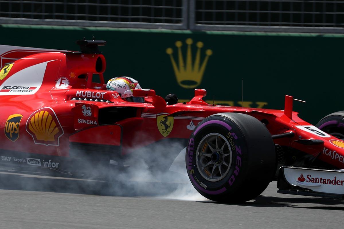 Sebastian Vettel en Canadá - SoyMotor