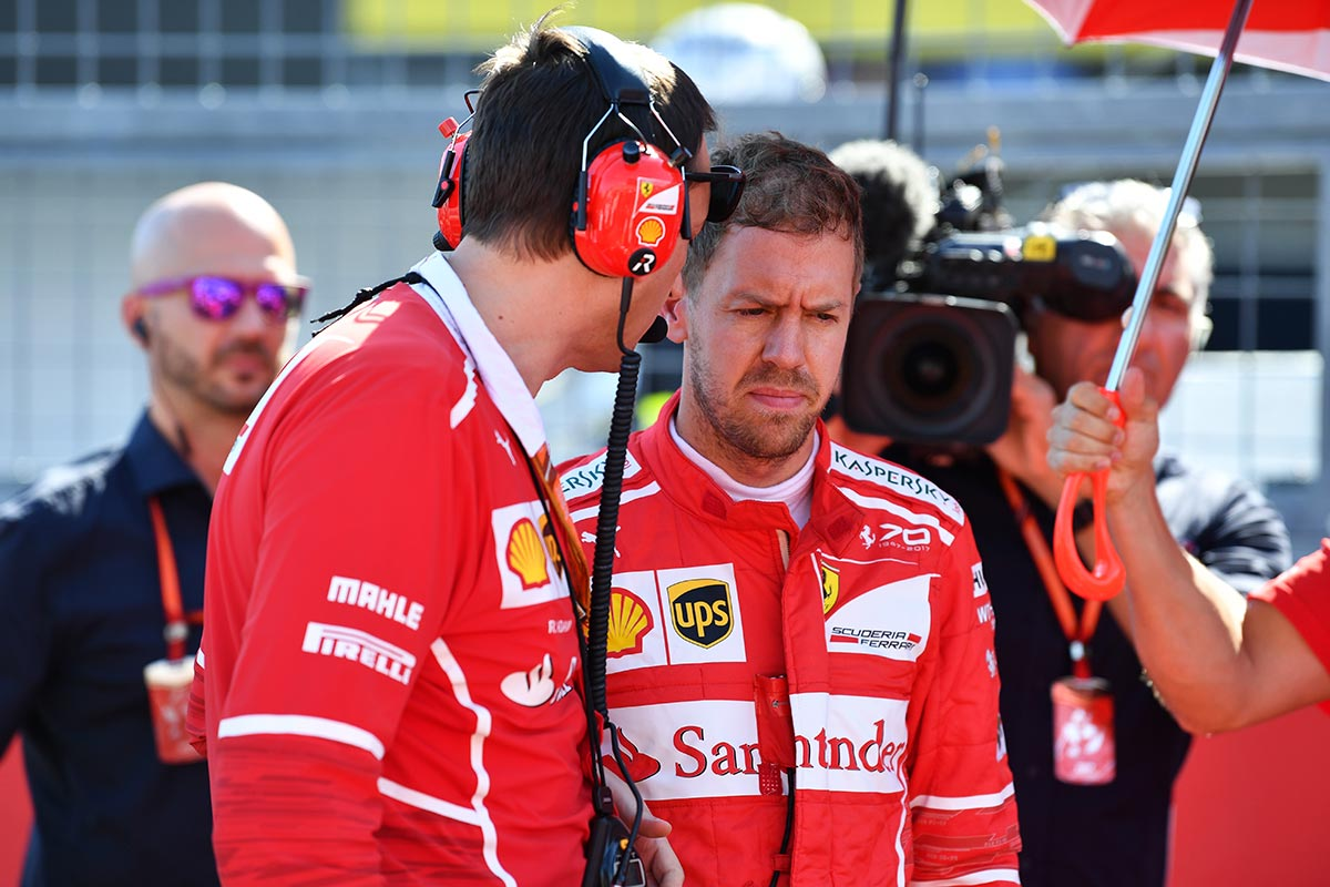 Sebastian Vettel en Japón - SoyMotor