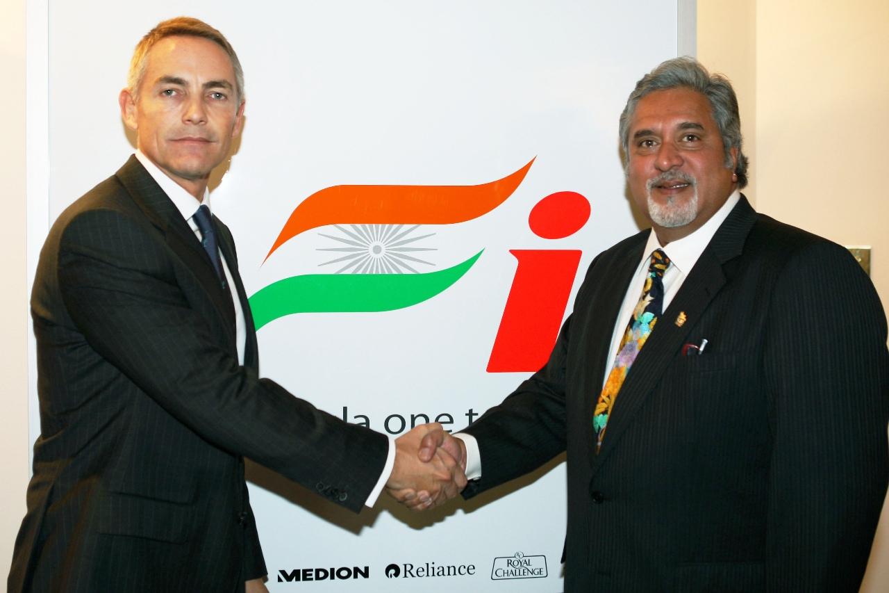 Fundación de Force India en 2008 – SoyMotor.com